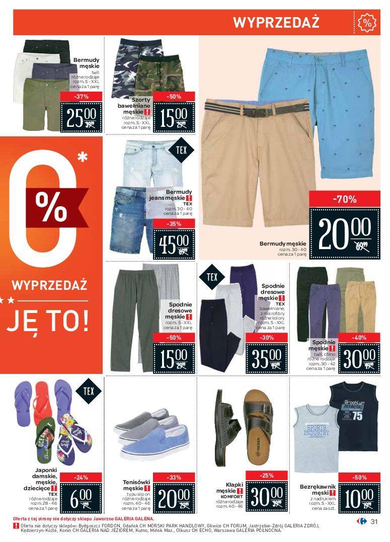 Gazetka promocyjna Carrefour do 07/07/2018 str.31