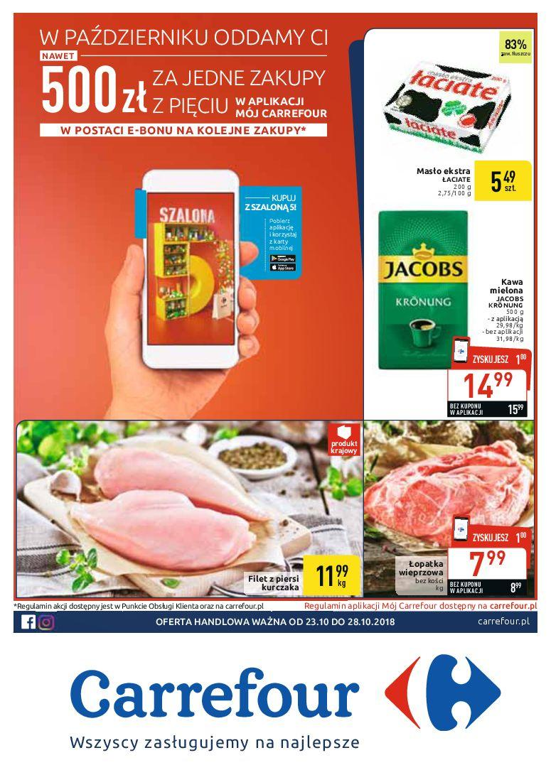 Gazetka promocyjna Carrefour do 28/10/2018 str.0