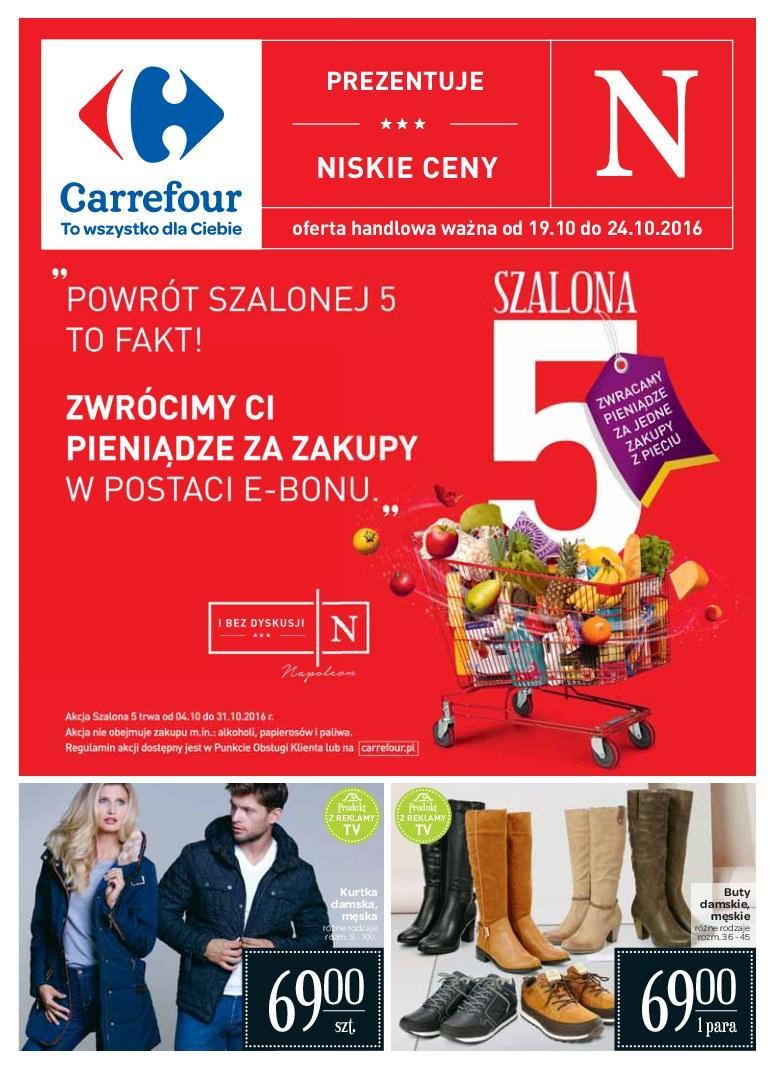 Gazetka promocyjna Carrefour do 24/10/2016 str.0