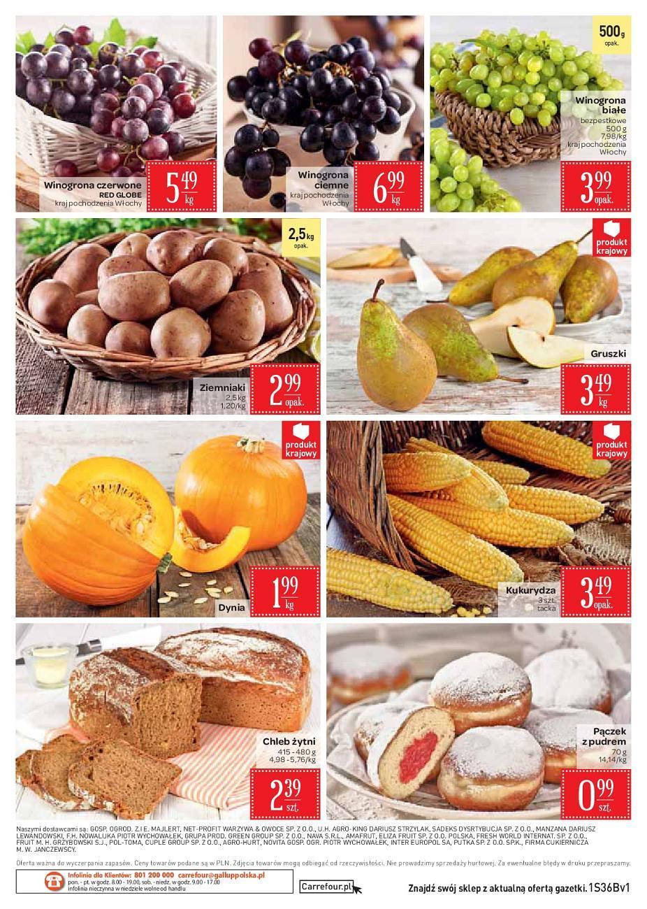 Gazetka promocyjna Carrefour Market do 10/09/2018 str.2