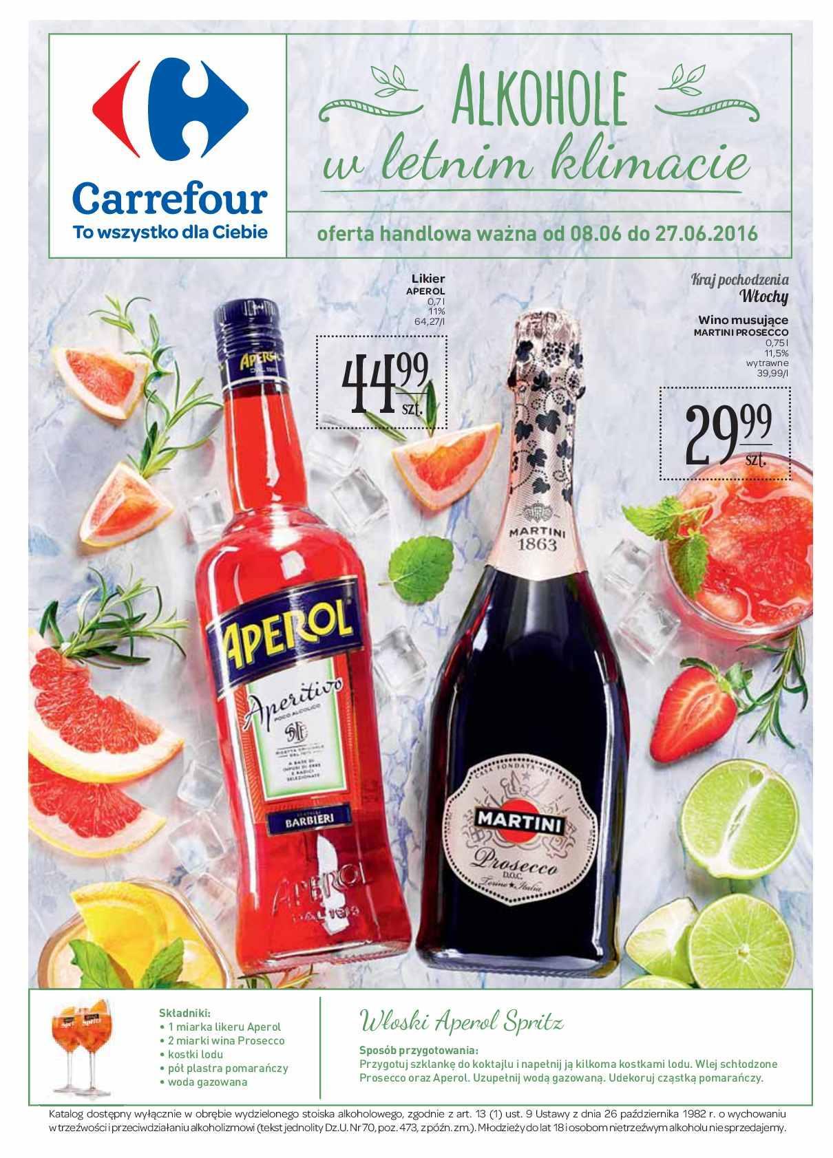 Gazetka promocyjna Carrefour do 27/06/2016 str.0