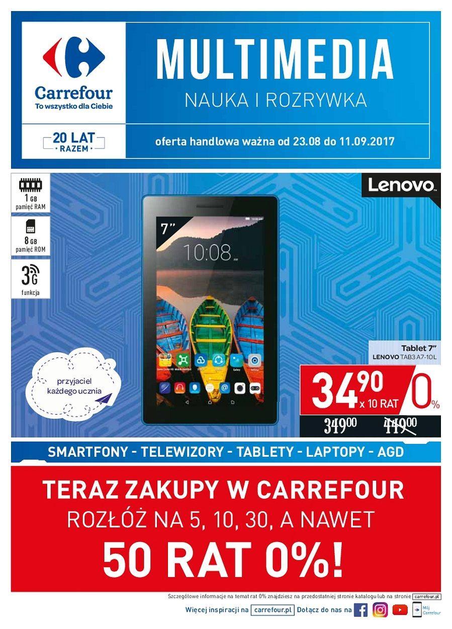 Gazetka promocyjna Carrefour do 11/09/2017 str.0