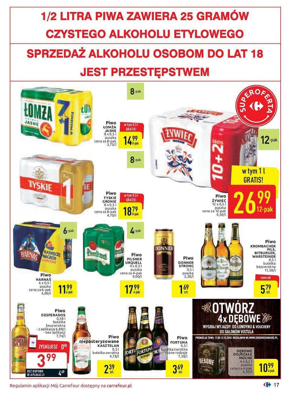 Gazetka promocyjna Carrefour do 30/09/2018 str.17