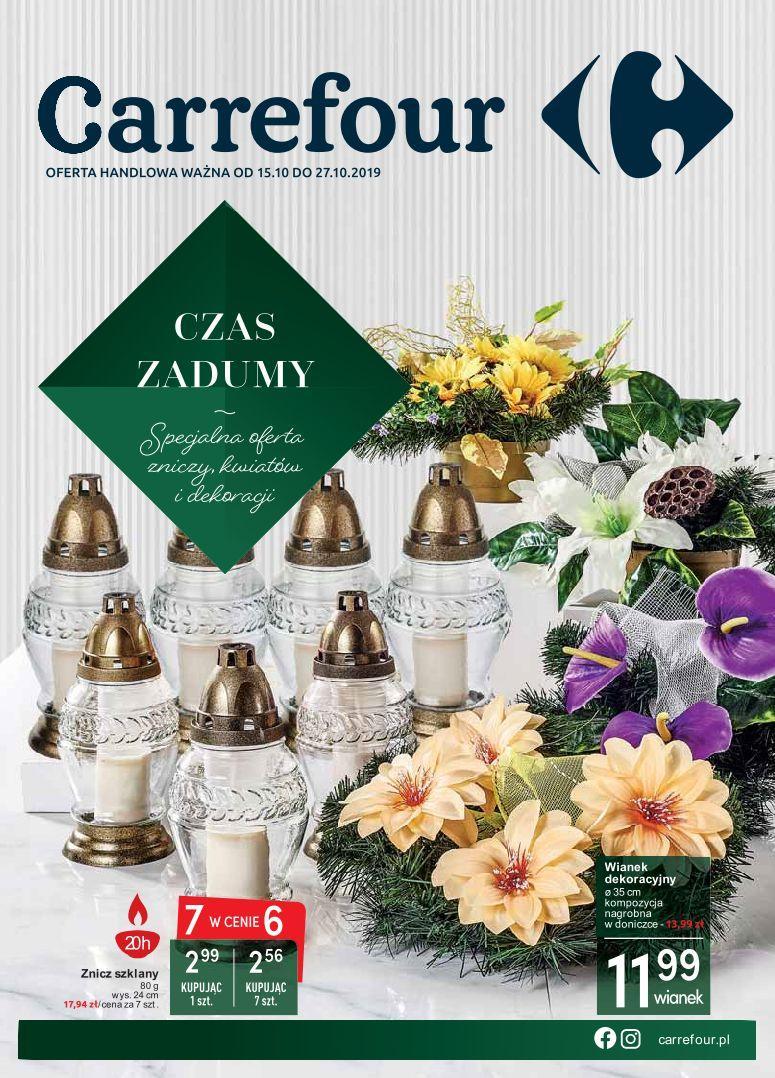 Gazetka promocyjna Carrefour do 27/10/2019 str.1