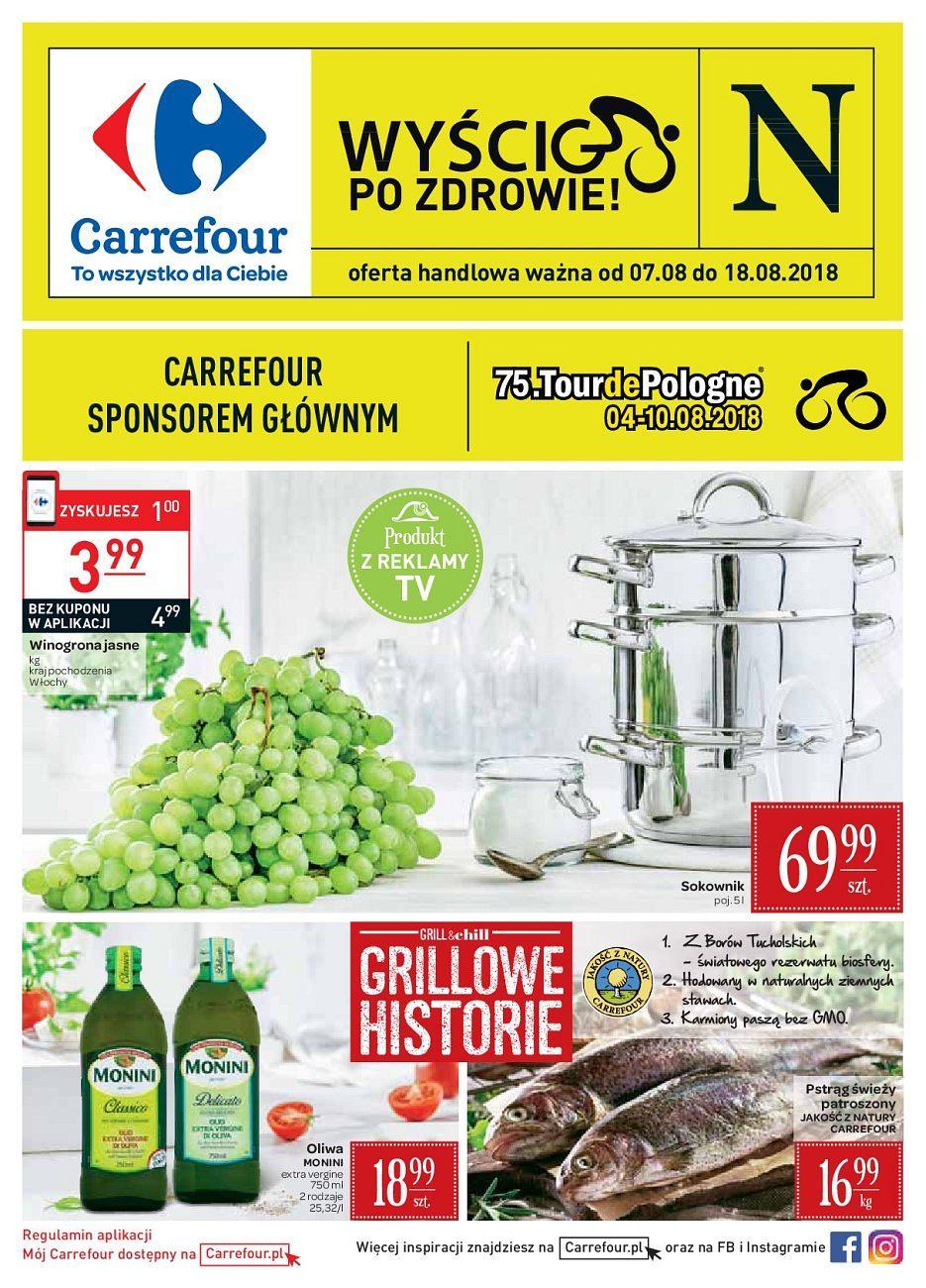 Gazetka promocyjna Carrefour do 18/08/2018 str.0