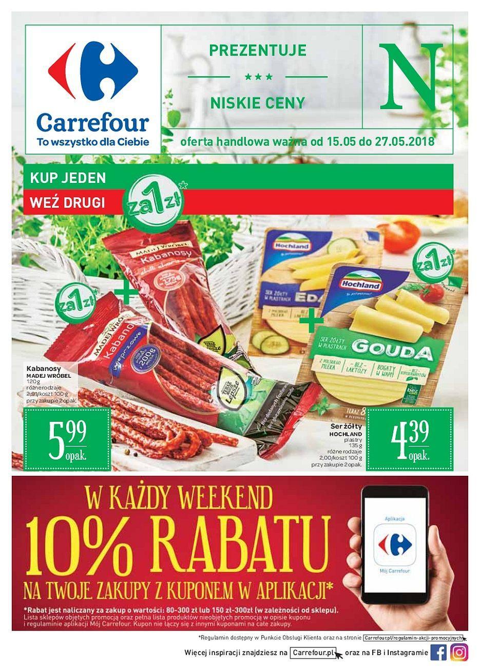 Gazetka promocyjna Carrefour do 27/05/2018 str.0