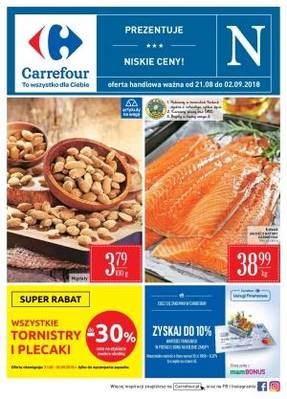 Carrefour gazetka - od 21/08/2018 do 02/09/2018
