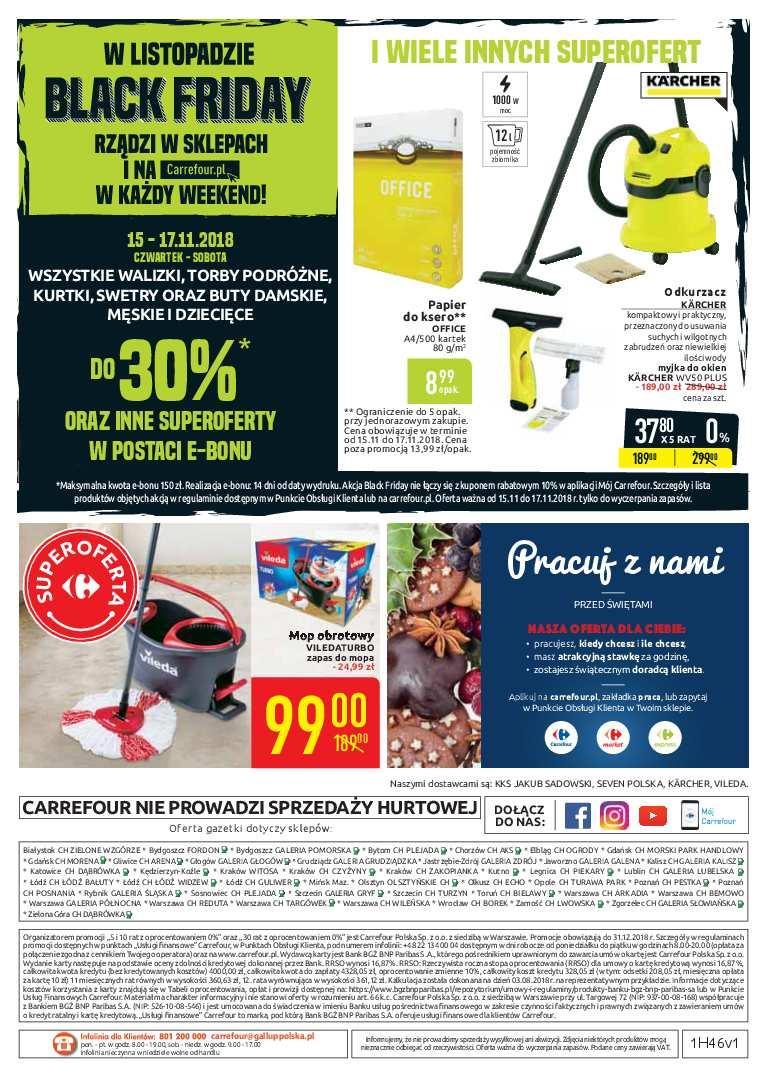 Gazetka promocyjna Carrefour do 25/11/2018 str.40