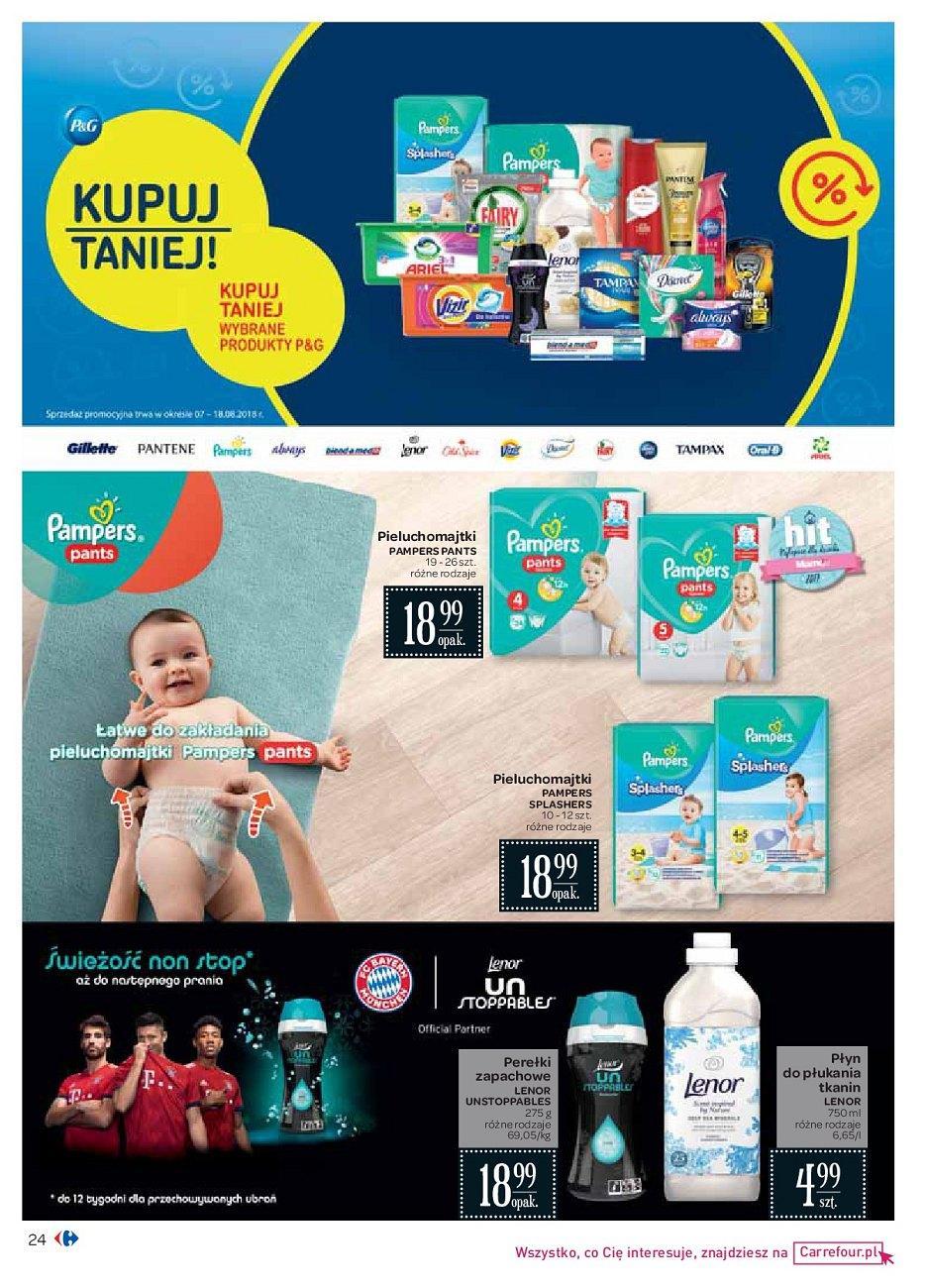 Gazetka promocyjna Carrefour do 18/08/2018 str.24
