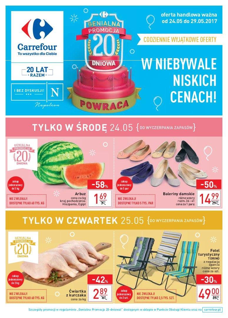 Gazetka promocyjna Carrefour do 29/05/2017 str.0