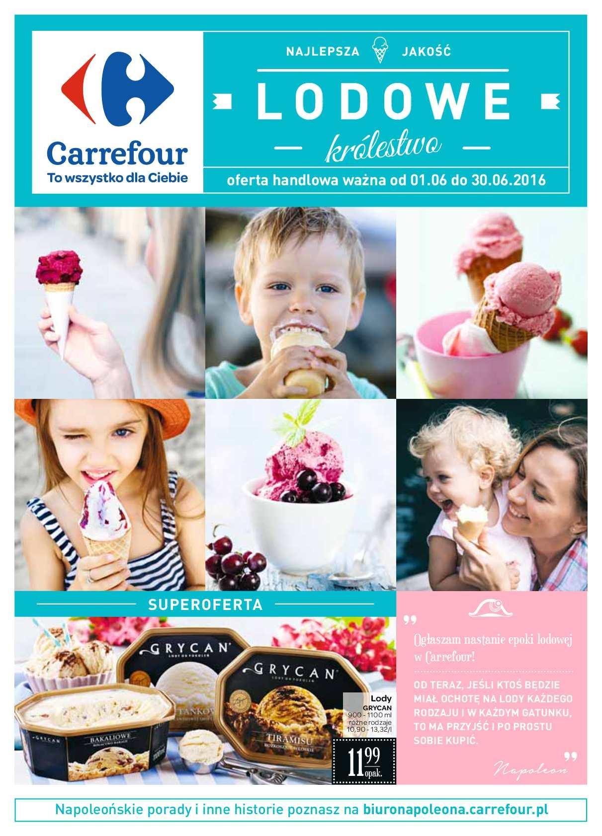 Gazetka promocyjna Carrefour do 30/06/2016 str.0