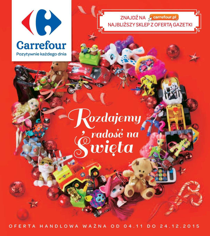 Gazetka promocyjna Carrefour do 24/12/2015 str.0