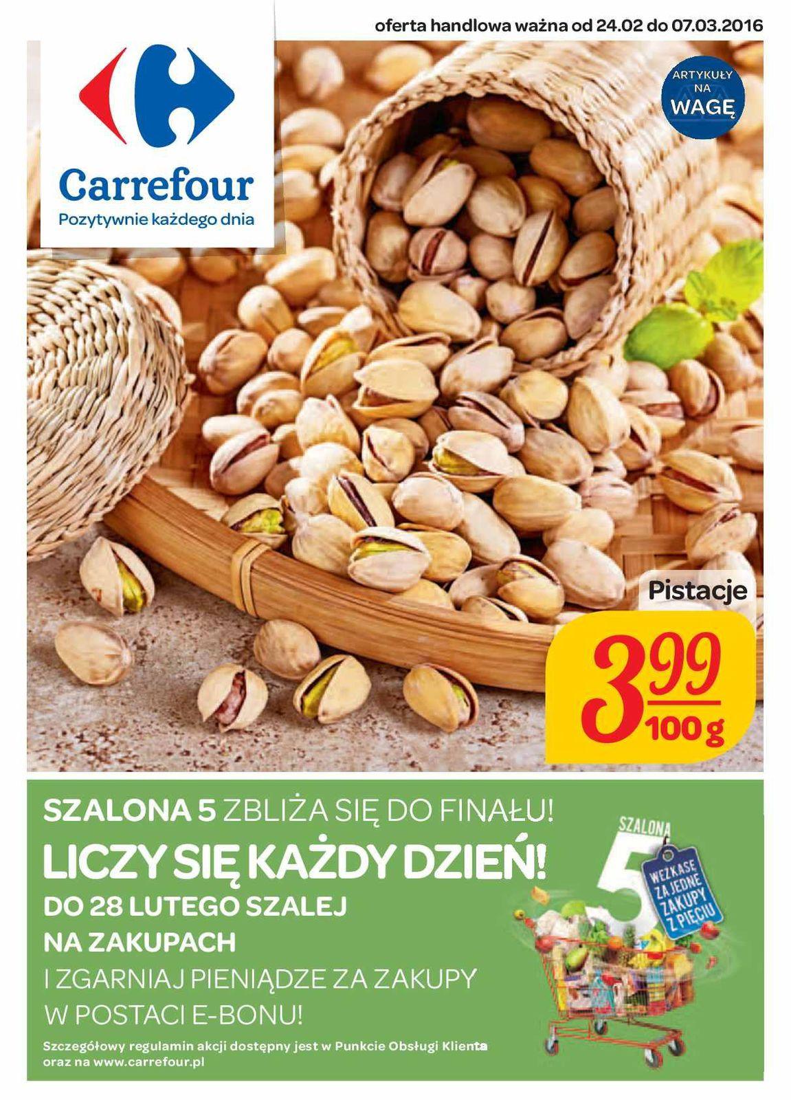 Gazetka promocyjna Carrefour do 06/03/2016 str.0