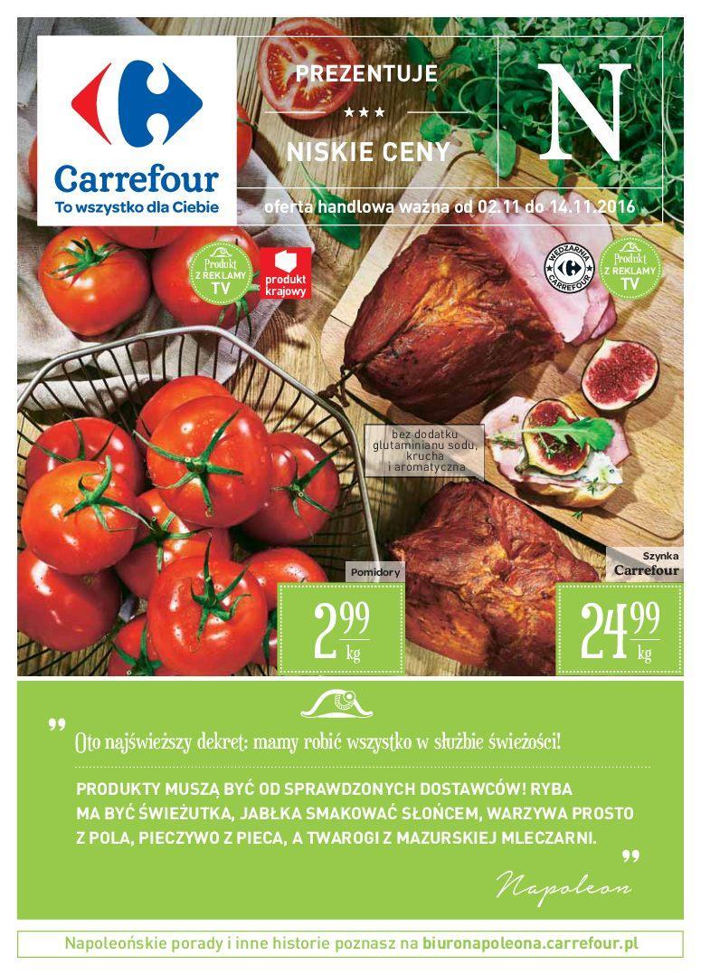 Gazetka promocyjna Carrefour do 14/11/2016 str.0