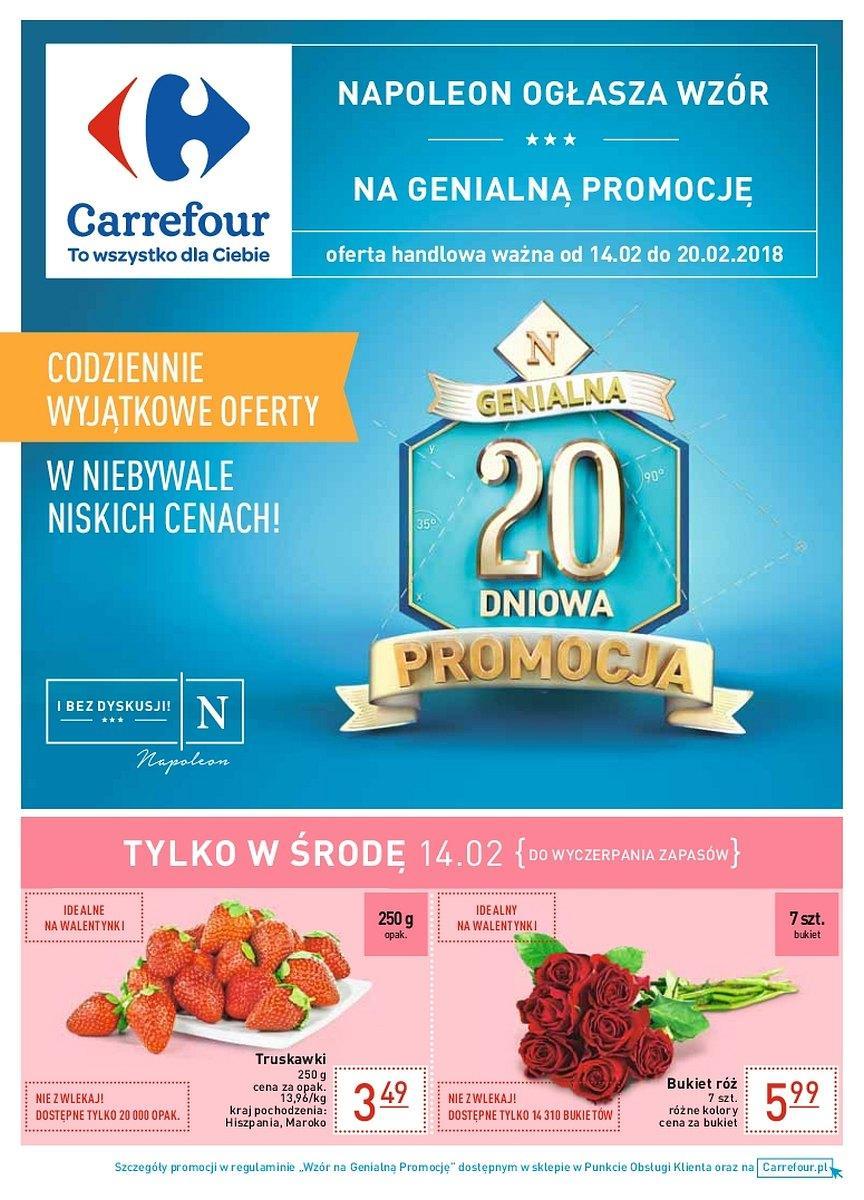 Gazetka promocyjna Carrefour do 20/02/2018 str.0