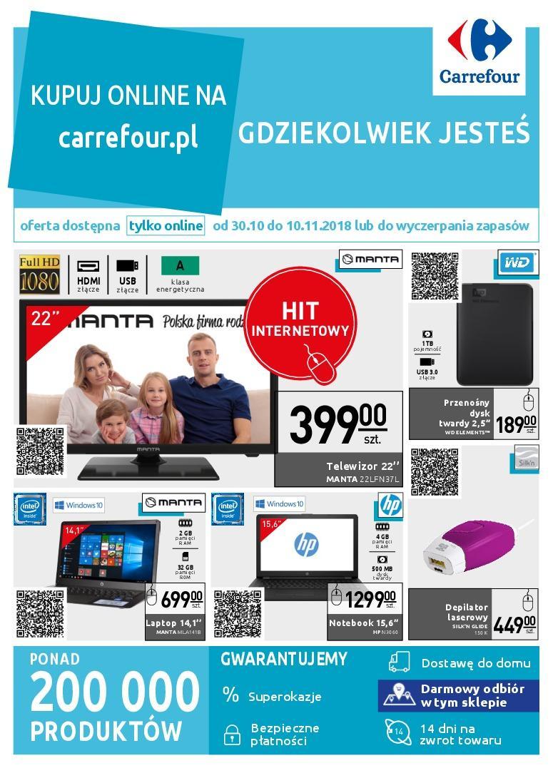 Gazetka promocyjna Carrefour do 13/11/2018 str.0