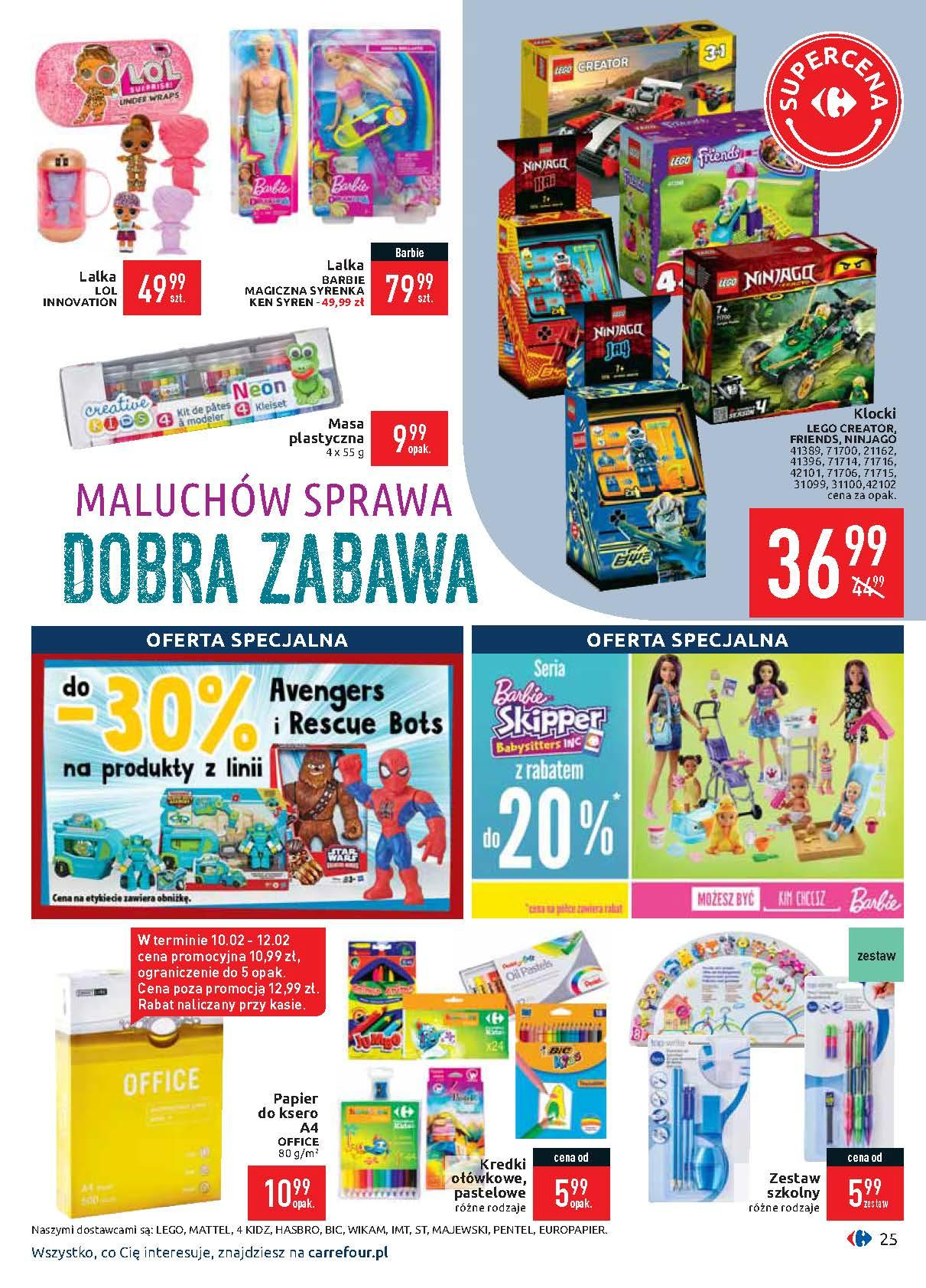 Gazetka promocyjna Carrefour do 17/02/2020 str.25