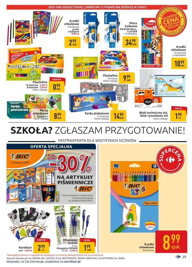 Gazetka promocyjna Carrefour do 07/09/2019 str.28