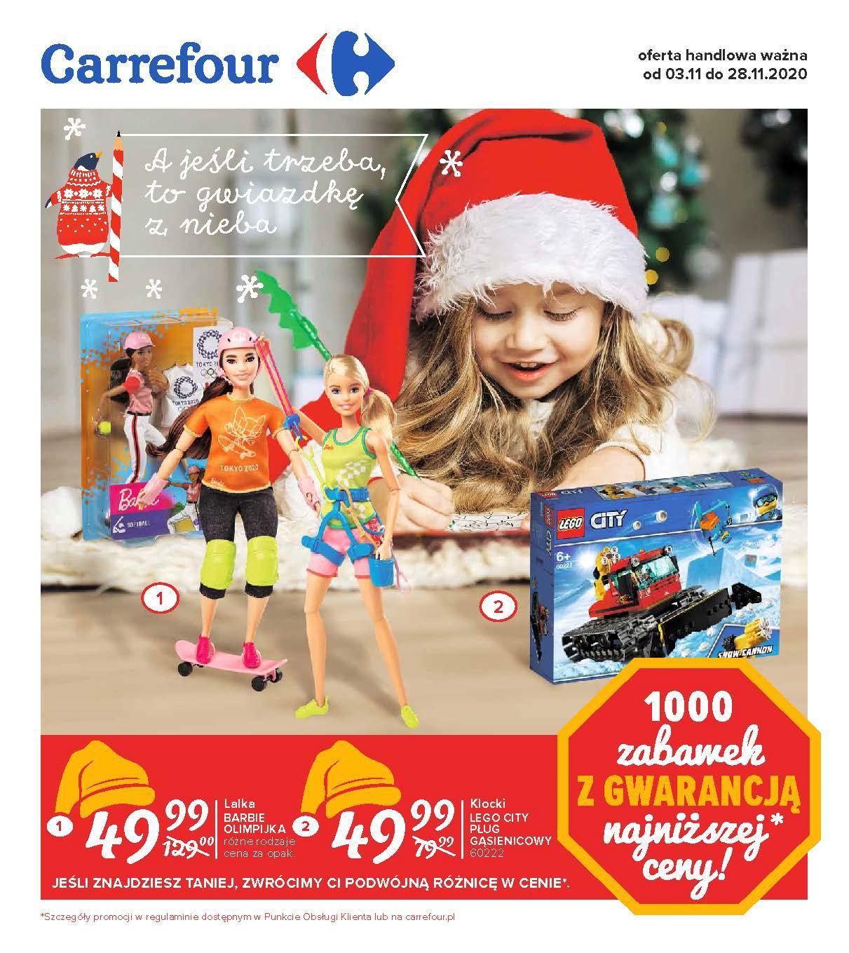 Gazetka promocyjna Carrefour do 28/11/2020 str.1