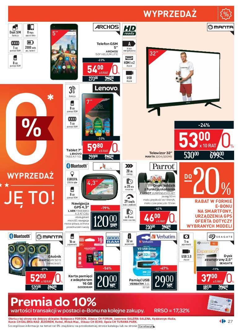 Gazetka promocyjna Carrefour do 24/06/2018 str.26