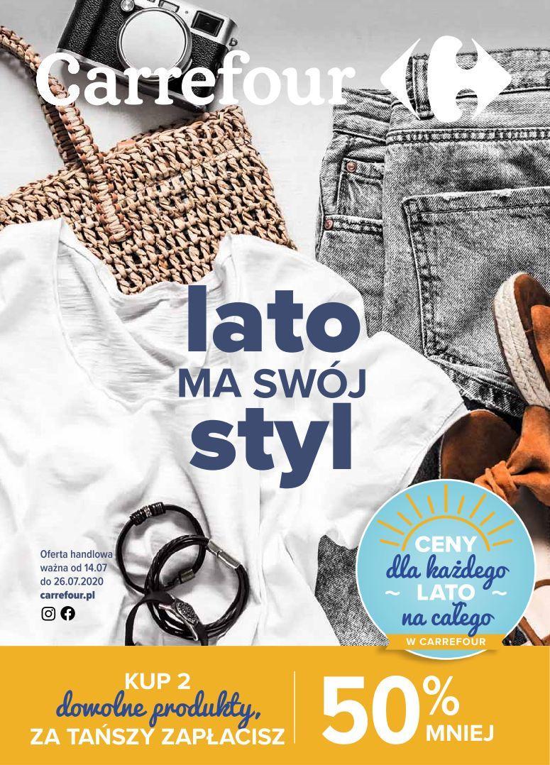 Gazetka promocyjna Carrefour do 26/07/2020 str.0