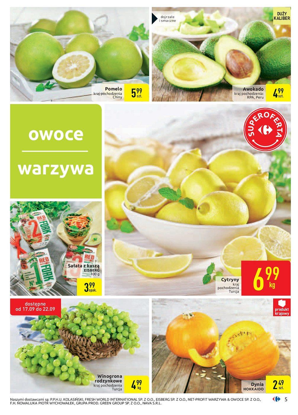 Gazetka promocyjna Carrefour do 30/09/2018 str.5