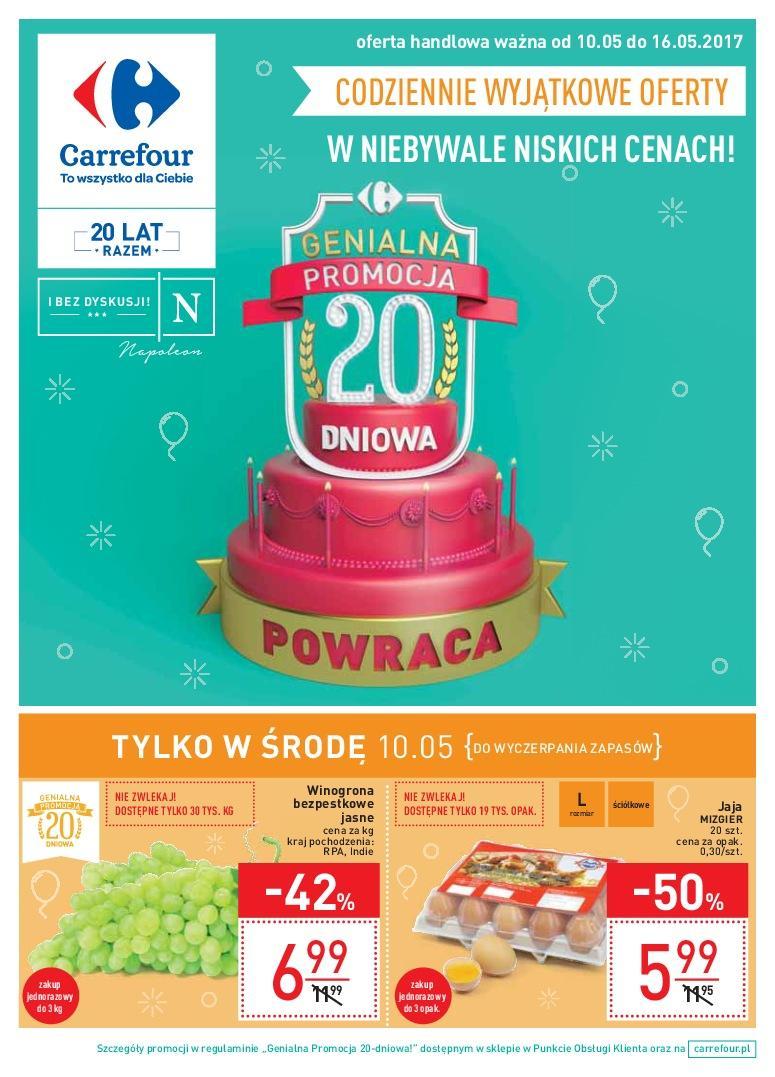Gazetka promocyjna Carrefour do 16/05/2017 str.0