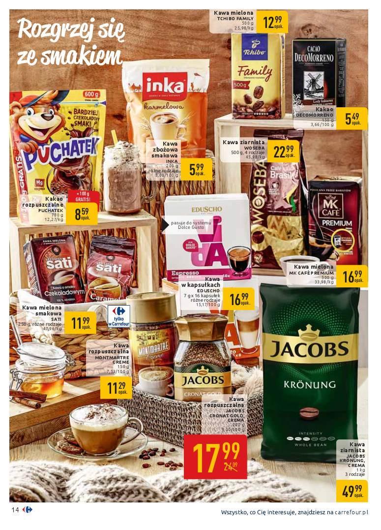 Gazetka promocyjna Carrefour do 19/01/2019 str.14