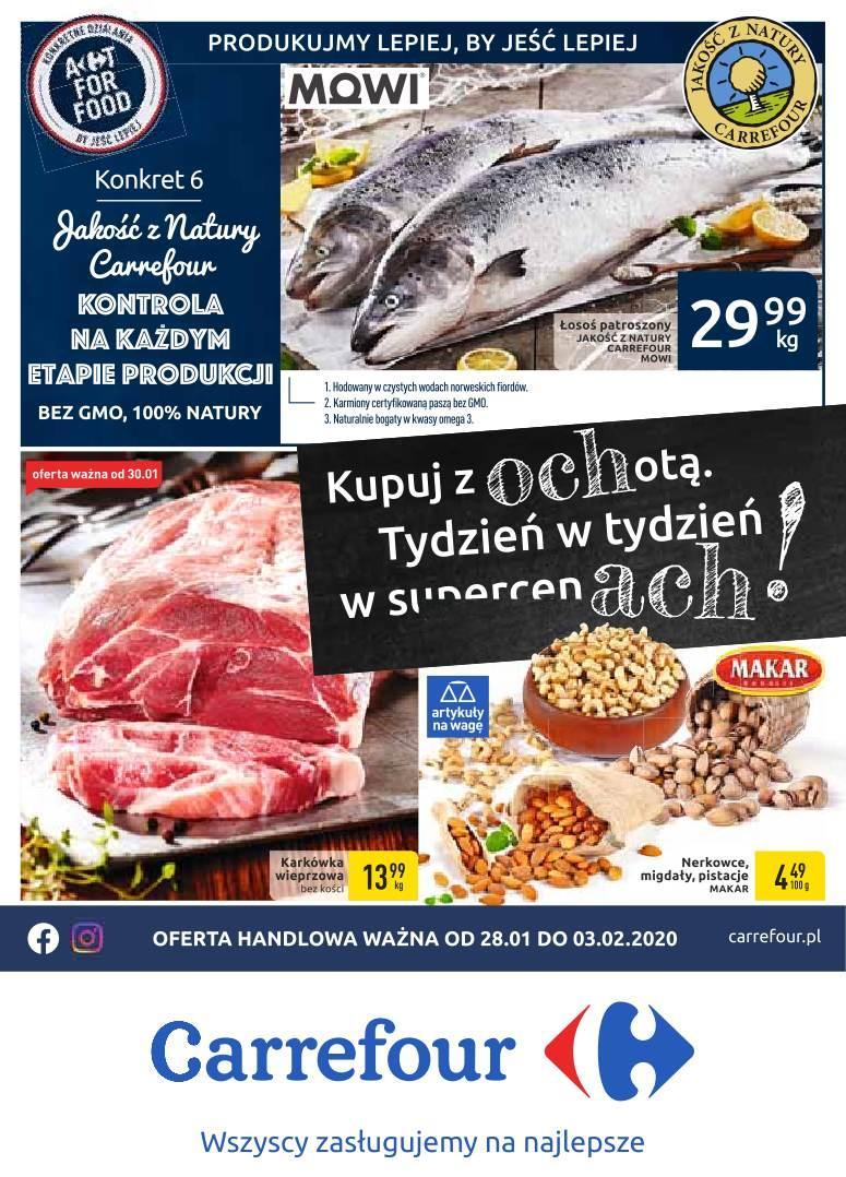 Gazetka promocyjna Carrefour do 03/02/2020 str.0