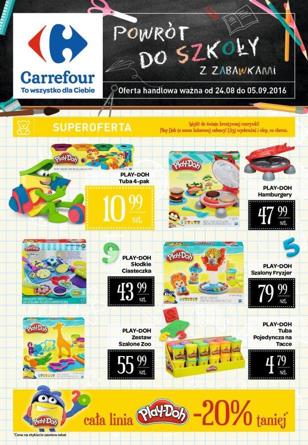Gazetka promocyjna Carrefour do 05/09/2016 str.0