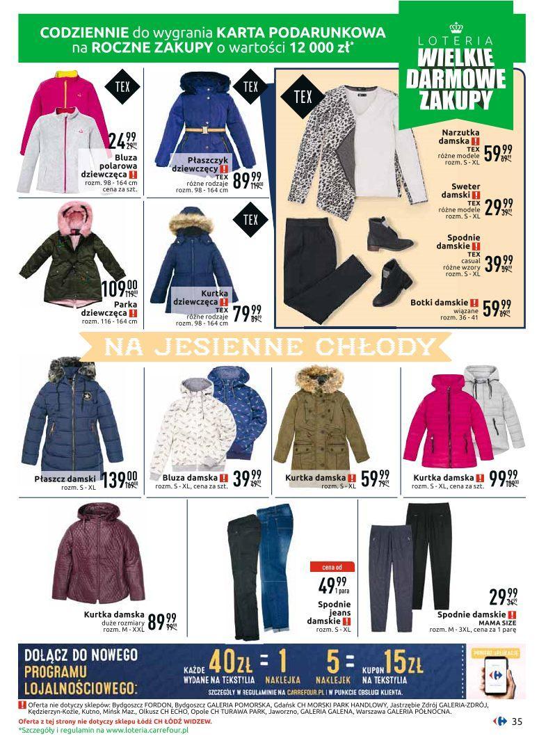 Gazetka promocyjna Carrefour do 12/10/2019 str.35