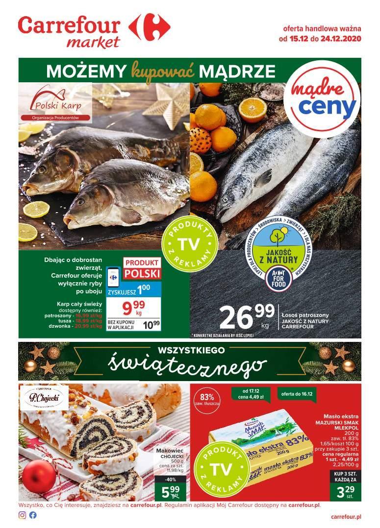 Gazetka promocyjna Carrefour Market do 24/12/2020 str.1