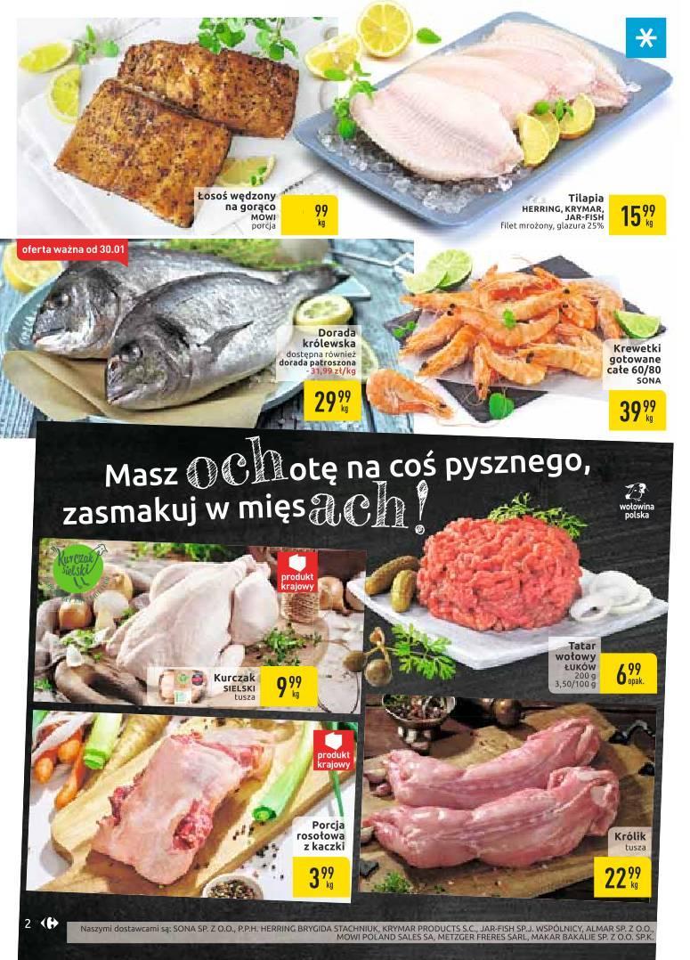 Gazetka promocyjna Carrefour do 03/02/2020 str.1