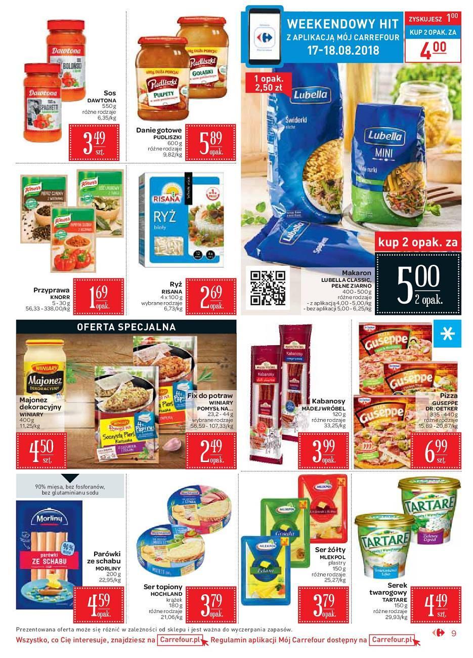 Gazetka promocyjna Carrefour Market do 18/08/2018 str.8