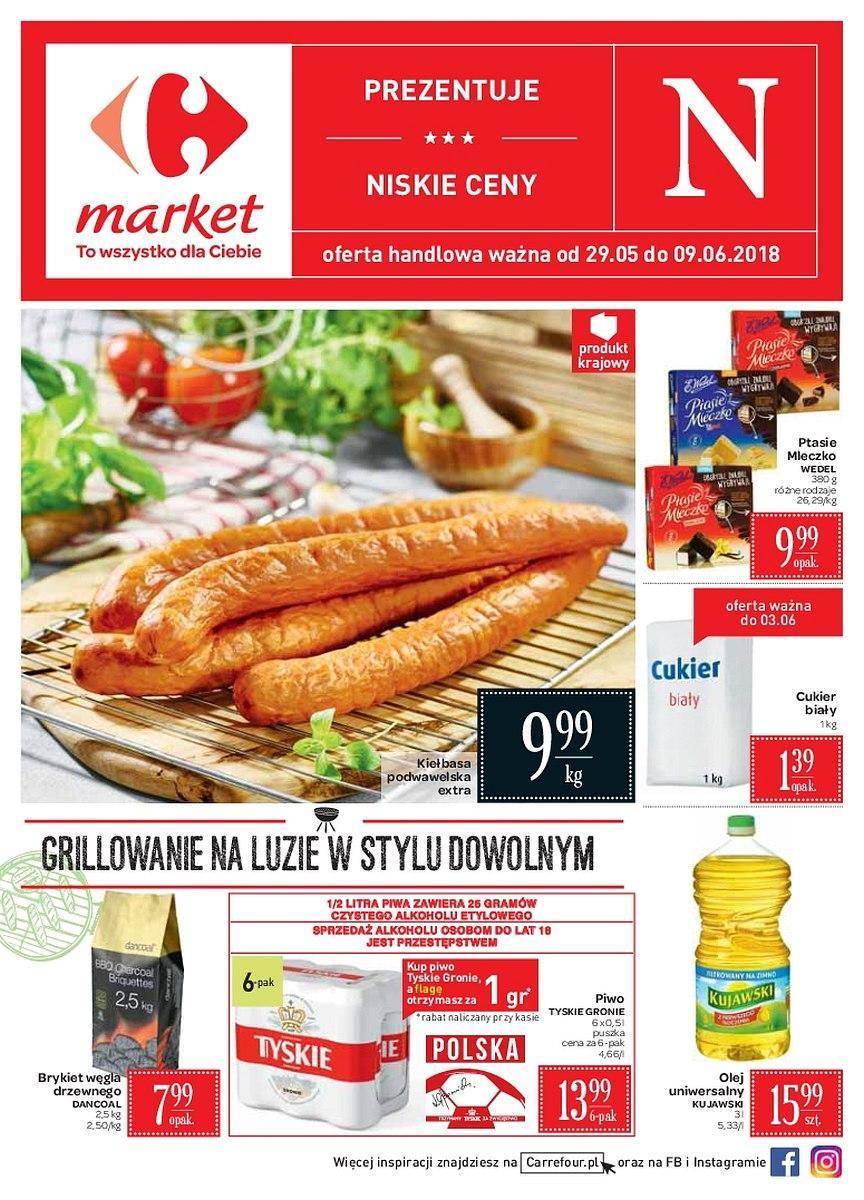 Gazetka promocyjna Carrefour Market do 09/06/2018 str.0