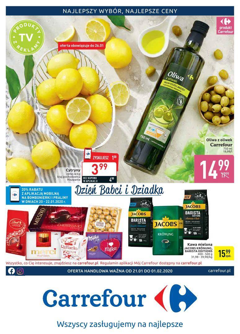 Gazetka promocyjna Carrefour do 01/02/2020 str.0