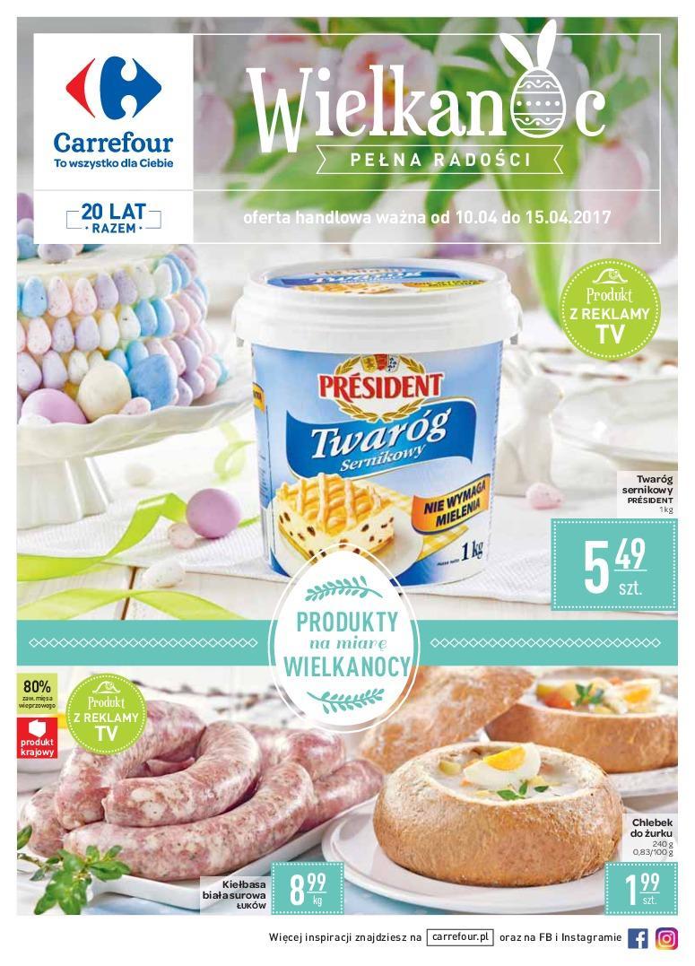 Gazetka promocyjna Carrefour do 15/04/2017 str.0