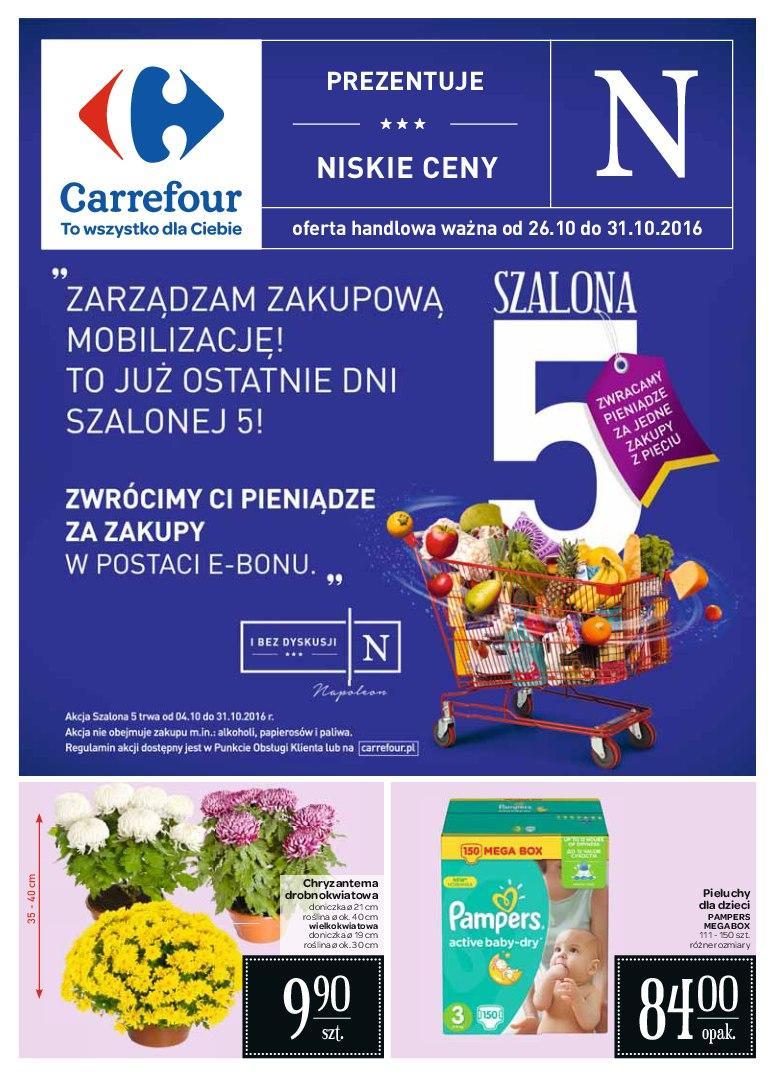 Gazetka promocyjna Carrefour do 31/10/2016 str.0