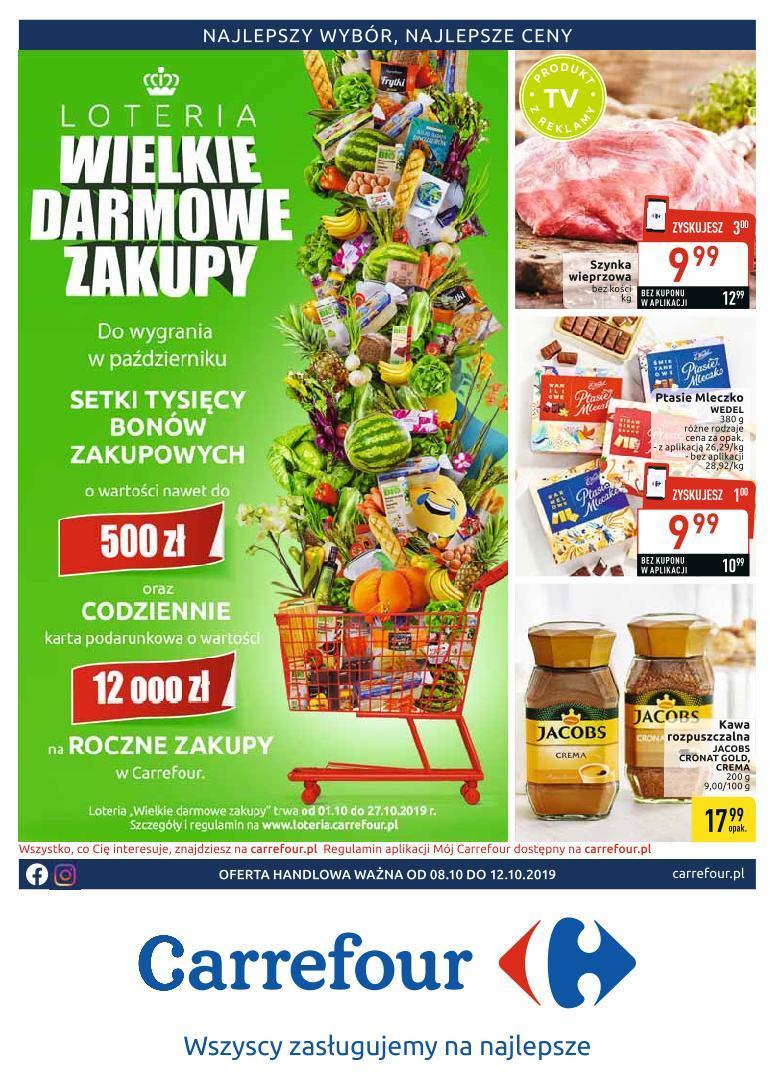 Gazetka promocyjna Carrefour do 12/10/2019 str.0