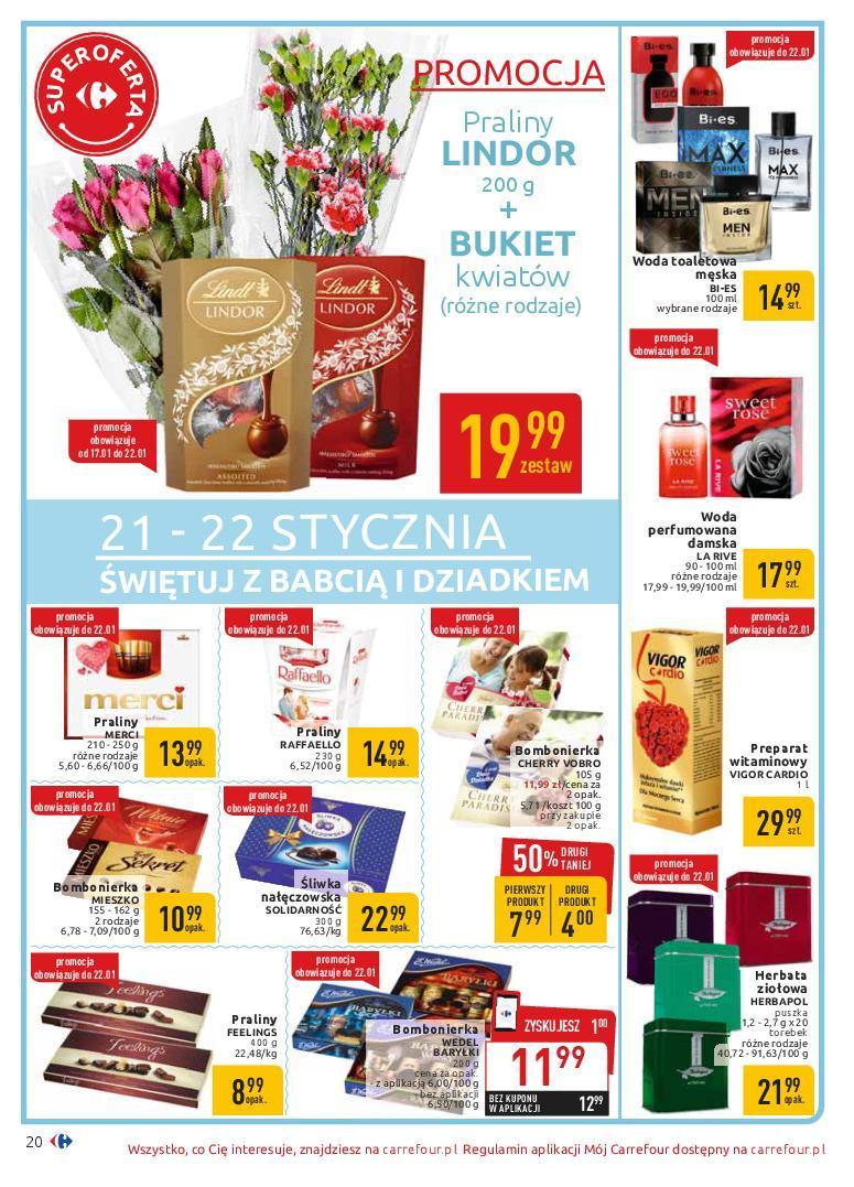 Gazetka promocyjna Carrefour do 19/01/2019 str.20