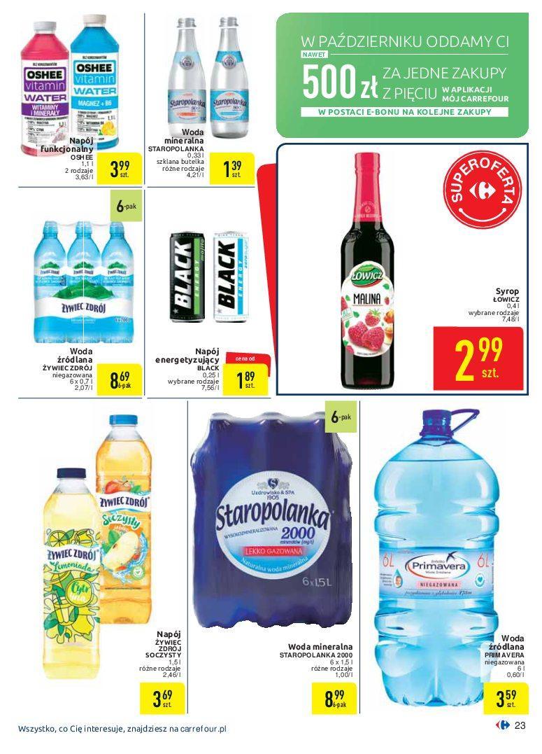 Gazetka promocyjna Carrefour do 07/10/2018 str.23