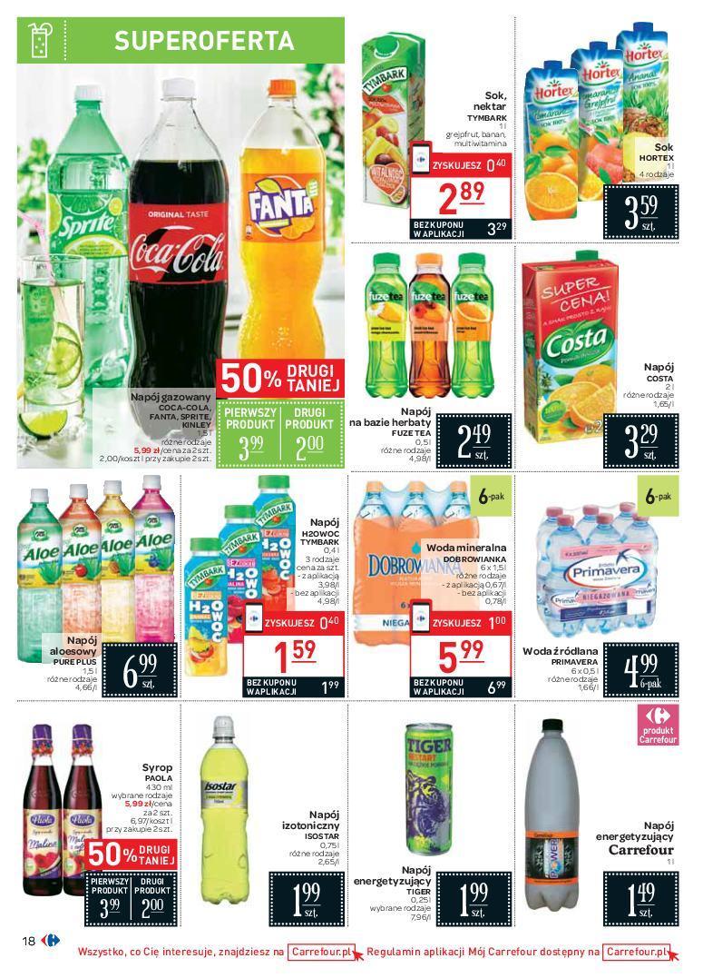 Gazetka promocyjna Carrefour do 07/07/2018 str.17