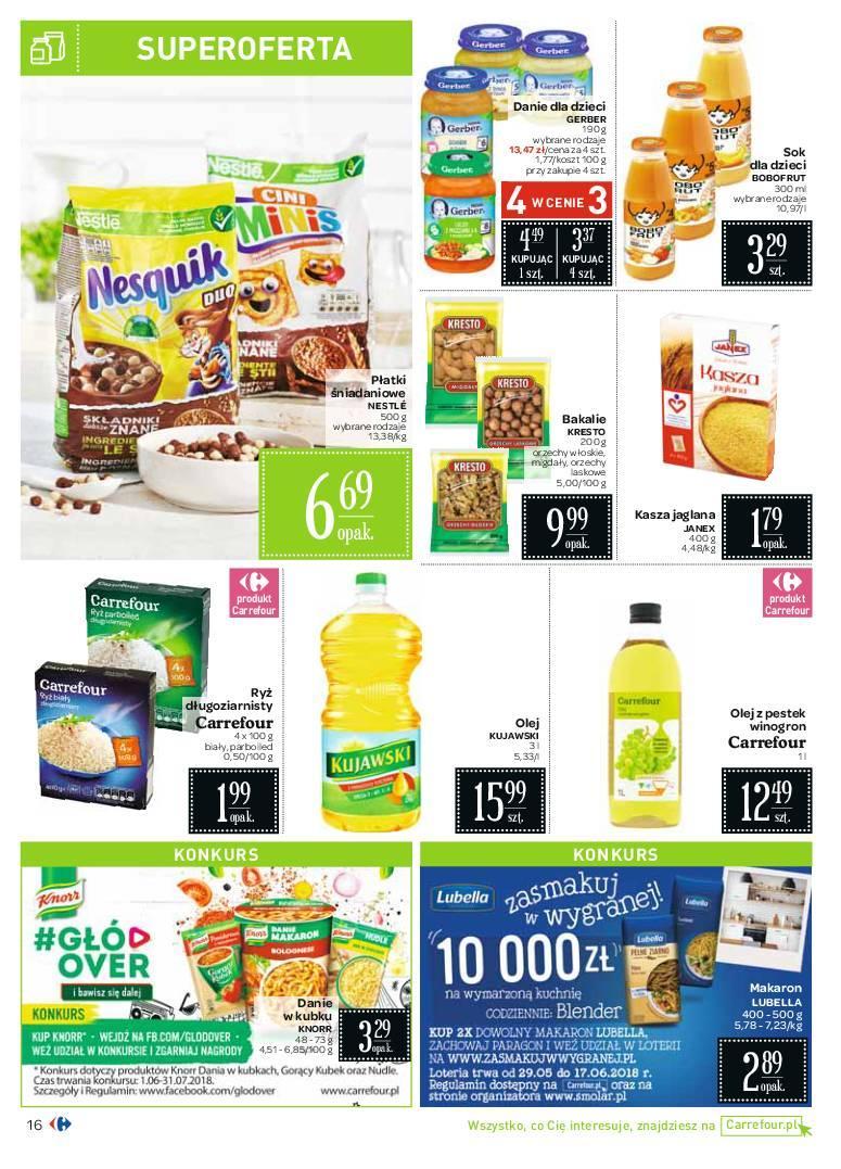 Gazetka promocyjna Carrefour do 09/06/2018 str.16