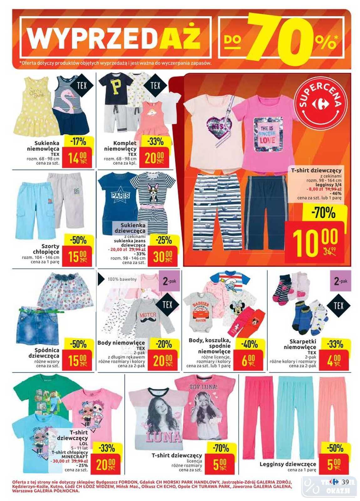 Gazetka promocyjna Carrefour do 22/06/2019 str.38