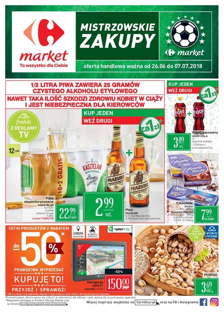 Gazetka promocyjna Carrefour Market do 07/07/2018 str.1