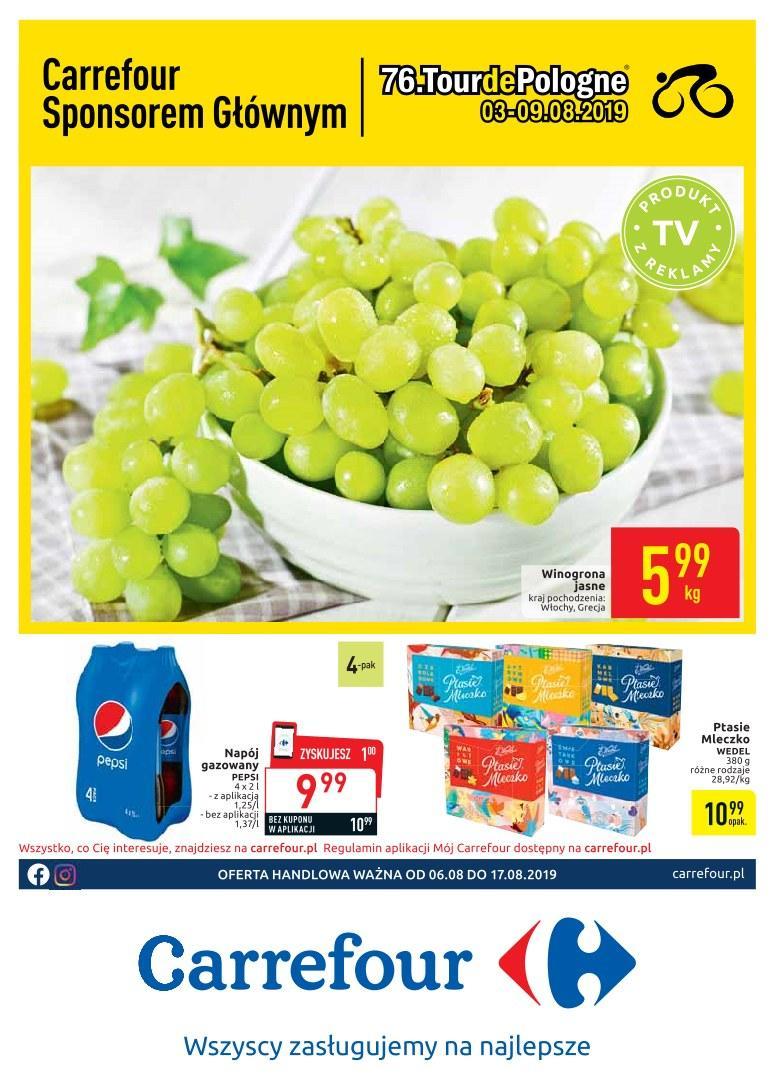 Gazetka promocyjna Carrefour do 19/08/2019 str.0