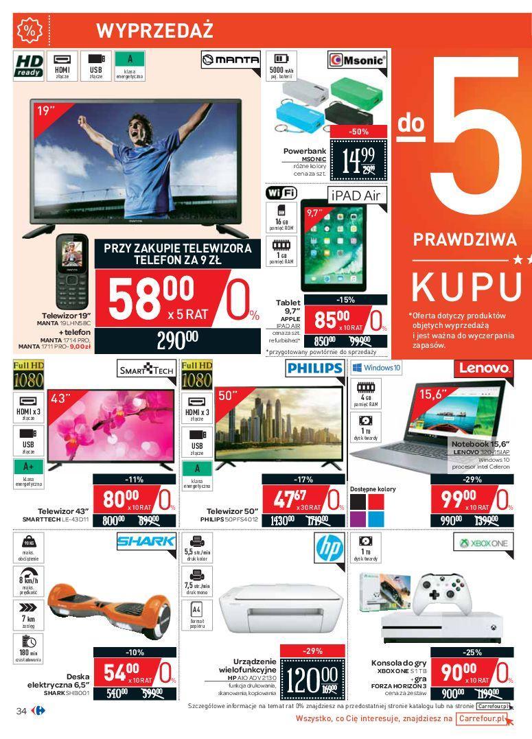 Gazetka promocyjna Carrefour do 07/07/2018 str.33