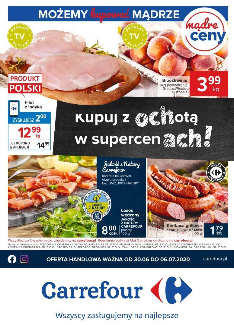 Gazetka promocyjna Carrefour do 06/07/2020 str.1