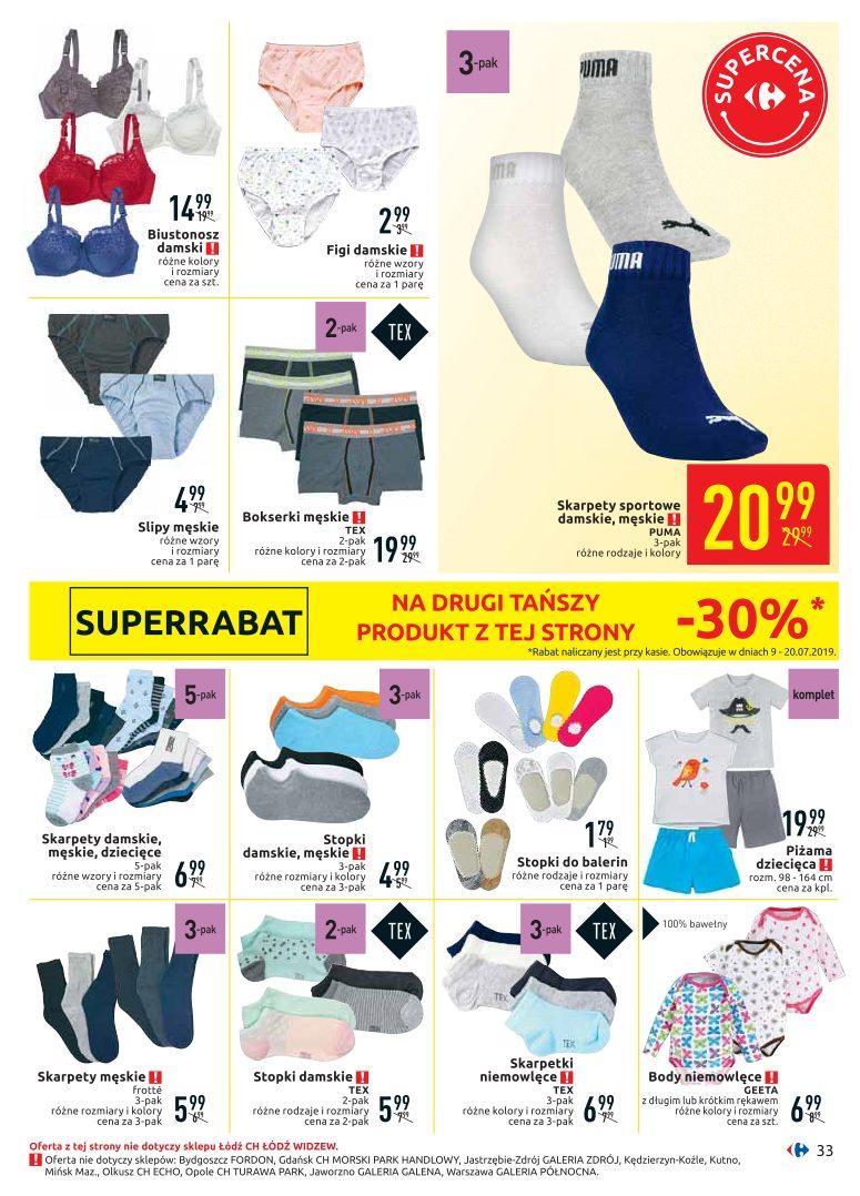 Gazetka promocyjna Carrefour do 20/07/2019 str.33