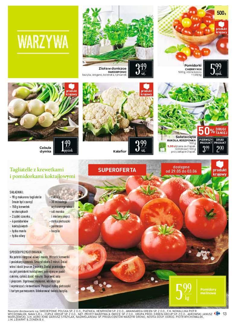 Gazetka promocyjna Carrefour do 09/06/2018 str.13